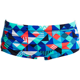 Funky Trunks Classic Boxer de bain Garçon, check republic
